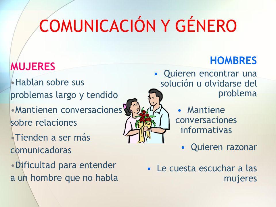 Mantiene conversaciones informativas
