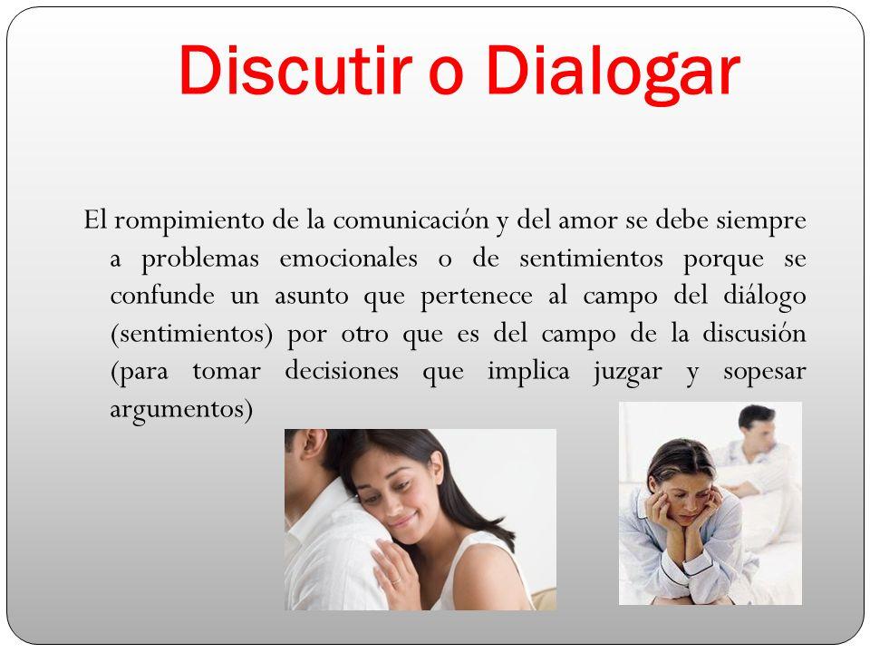 Discutir o Dialogar