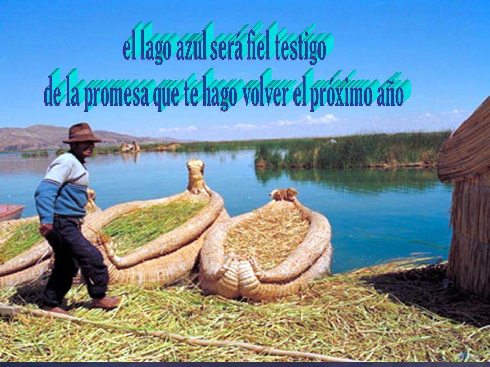 el lago azul será fiel testigo