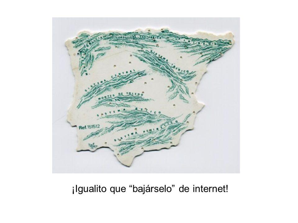 ¡Igualito que bajárselo de internet!