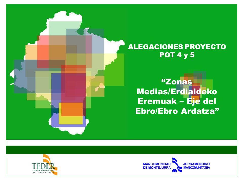 Zonas Medias/Erdialdeko Eremuak – Eje del Ebro/Ebro Ardatza