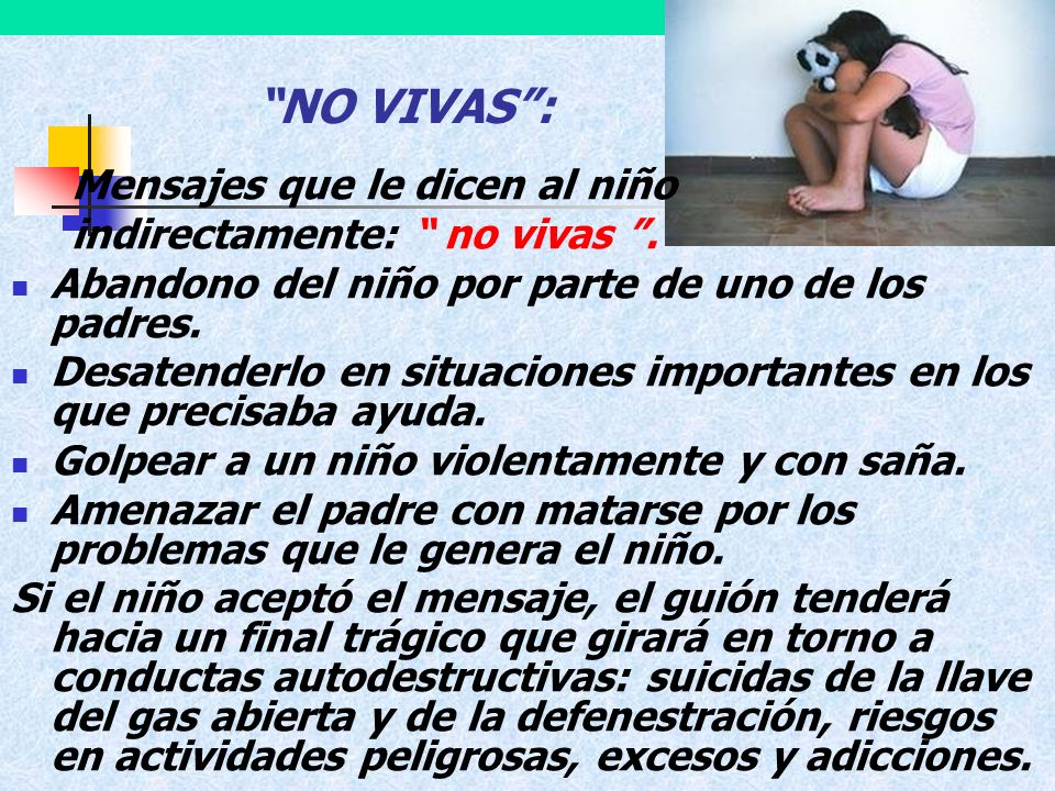 NO VIVAS : indirectamente: no vivas .