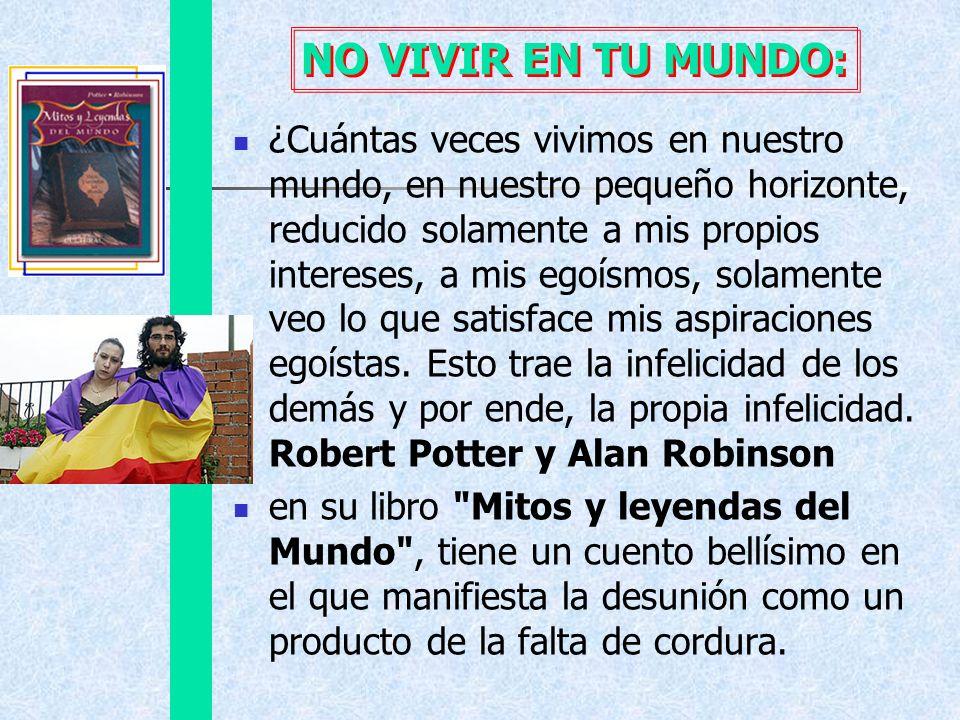 NO VIVIR EN TU MUNDO: