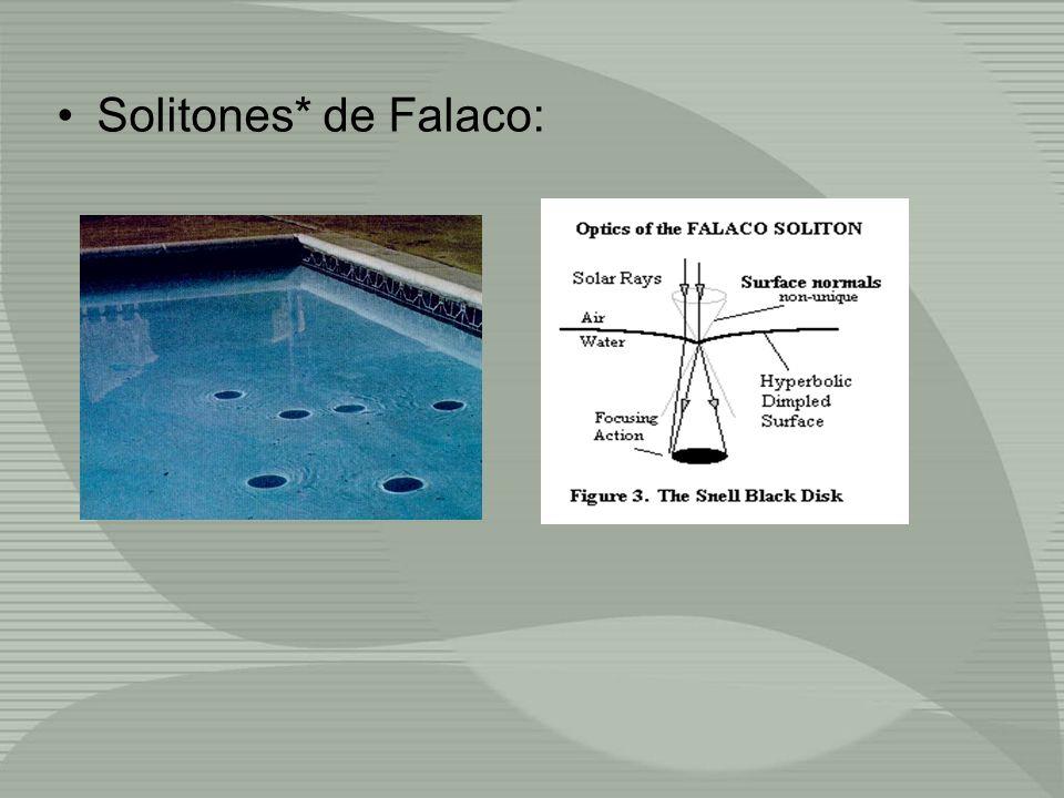 Solitones* de Falaco: