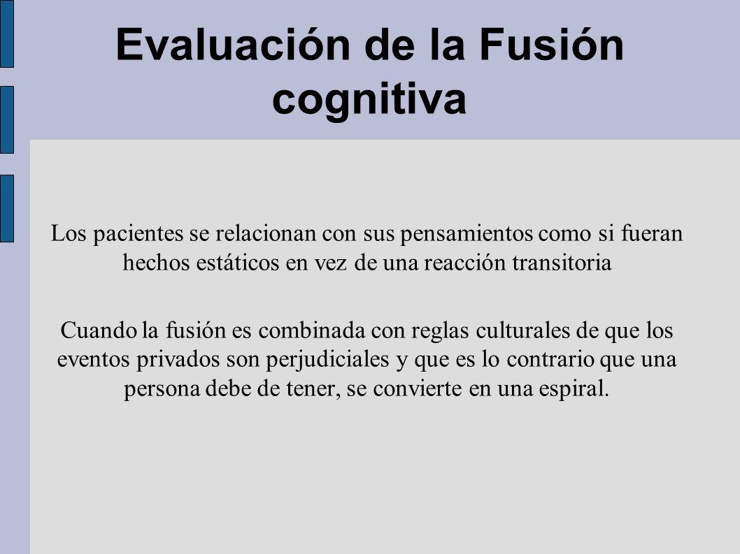 Evaluación de la Fusión cognitiva