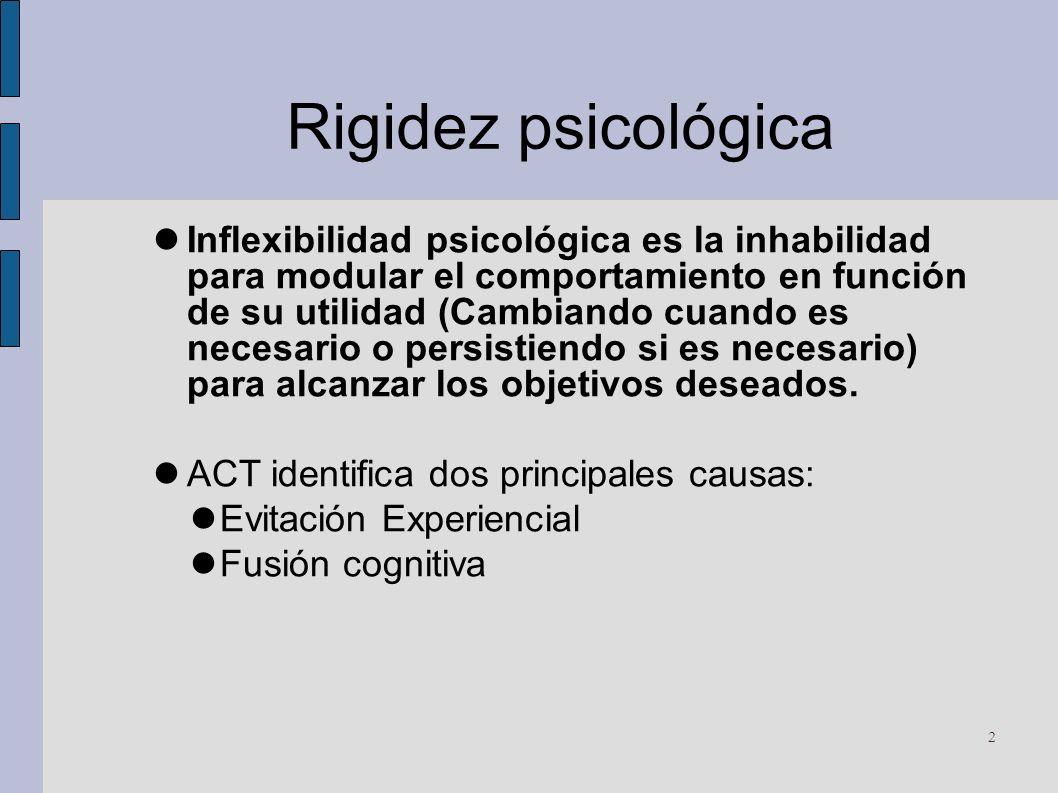 Rigidez psicológica