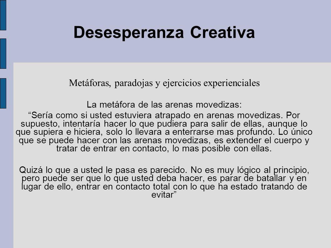 Desesperanza Creativa