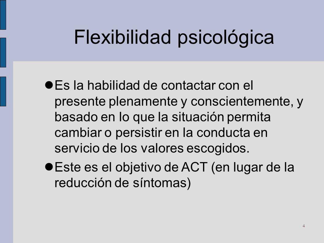 Flexibilidad psicológica
