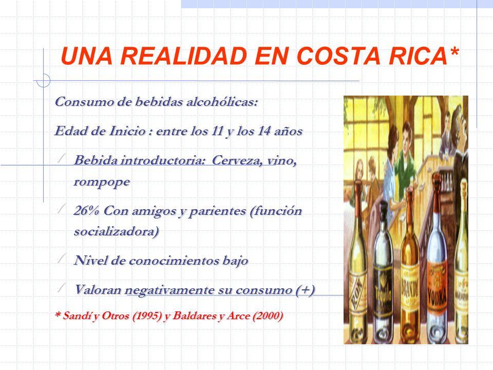 UNA REALIDAD EN COSTA RICA*