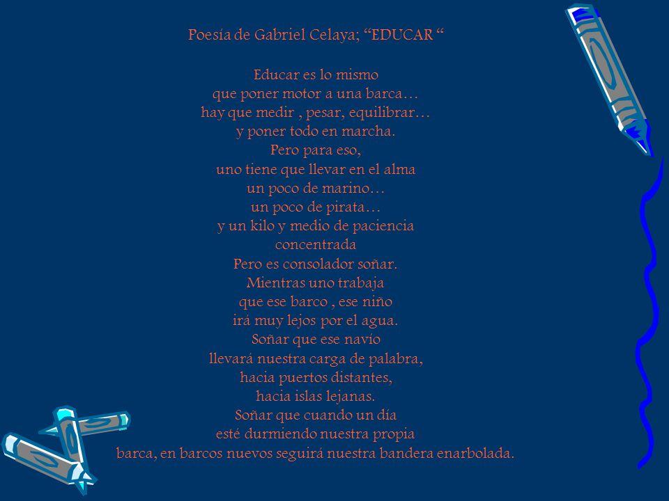 Poesía de Gabriel Celaya; EDUCAR