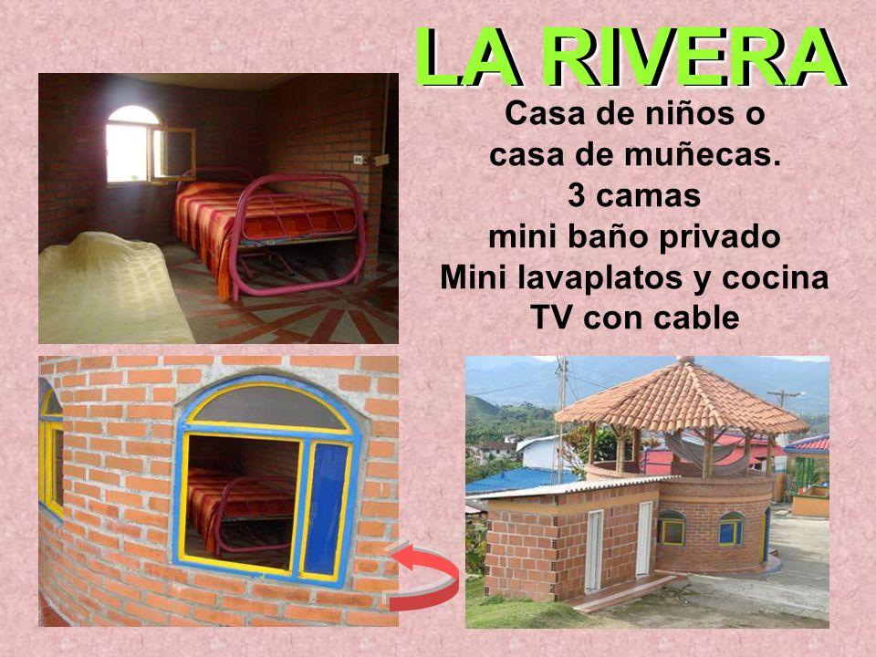 LA RIVERA Casa de niños o casa de muñecas.