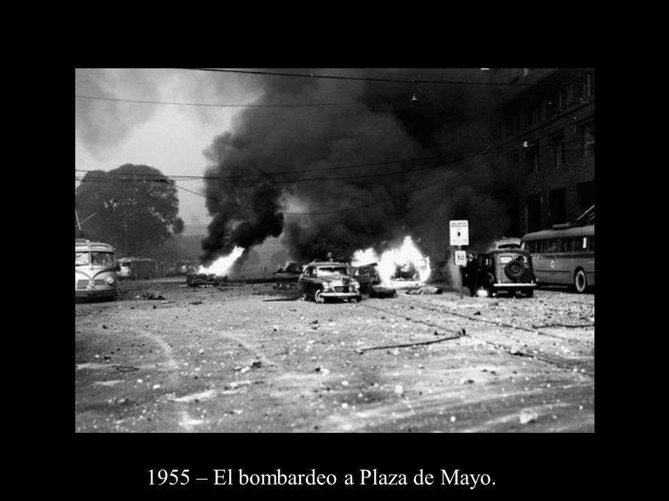 1955 – El bombardeo a Plaza de Mayo.
