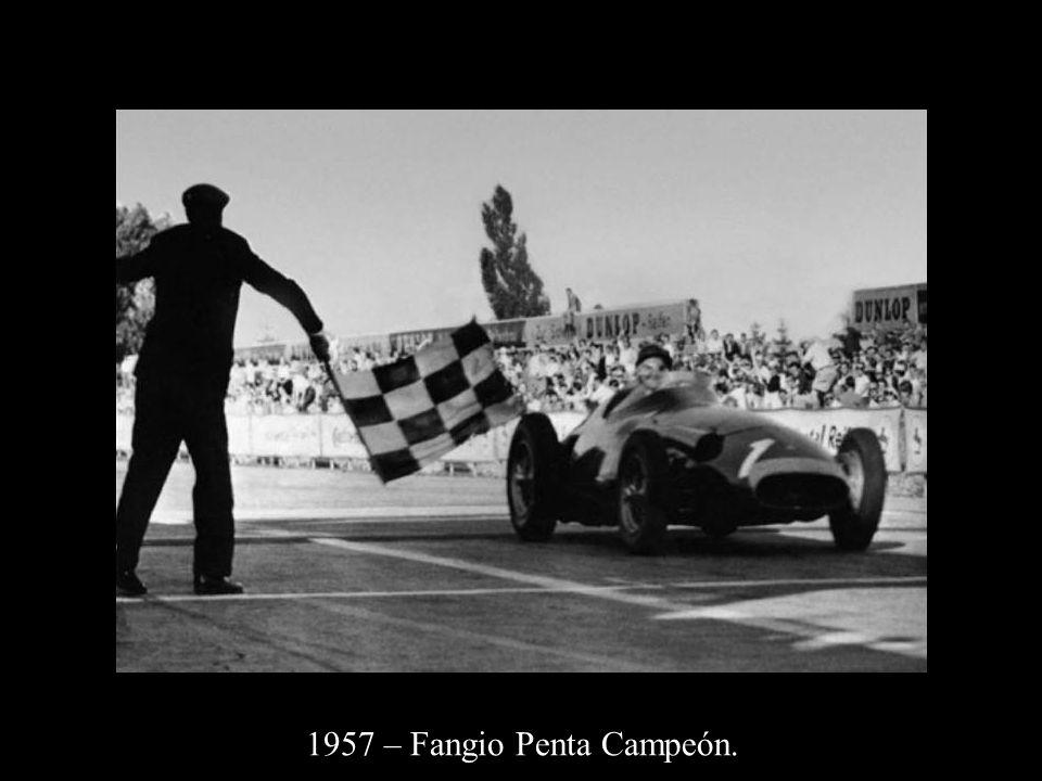 1957 – Fangio Penta Campeón.
