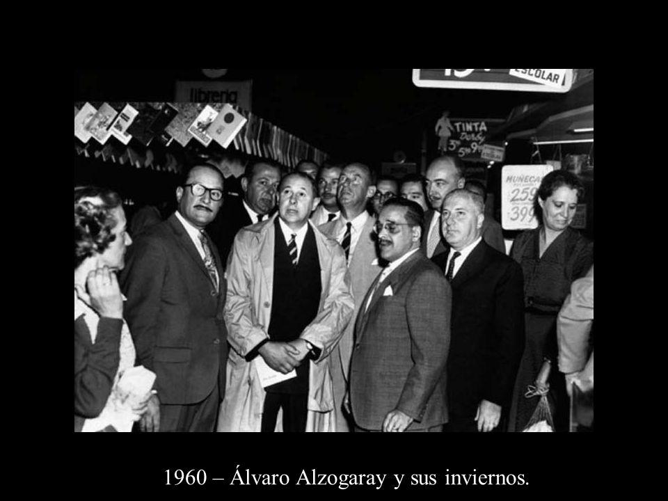 1960 – Álvaro Alzogaray y sus inviernos.