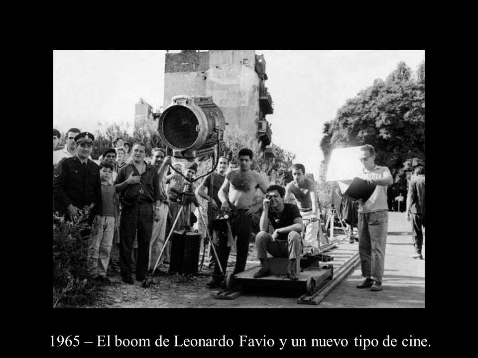 1965 – El boom de Leonardo Favio y un nuevo tipo de cine.