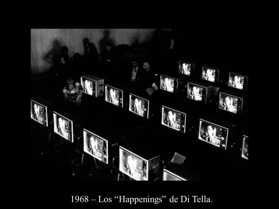 1968 – Los Happenings de Di Tella.