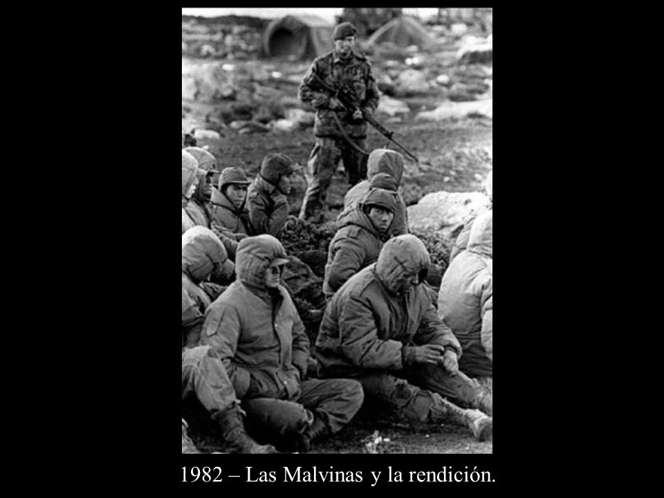 1982 – Las Malvinas y la rendición.