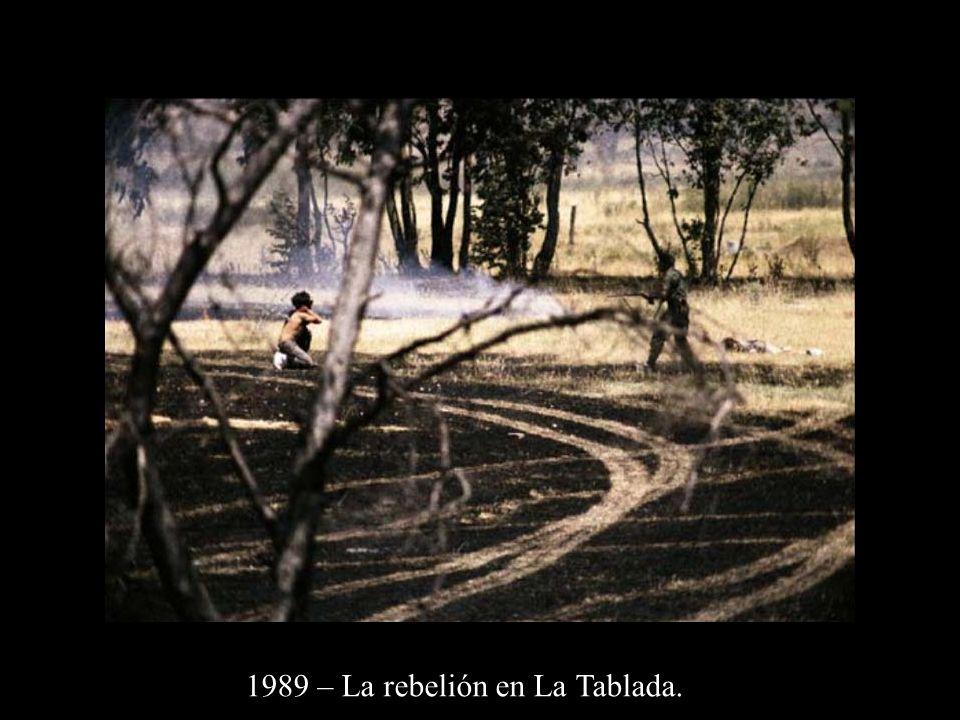 1989 – La rebelión en La Tablada.