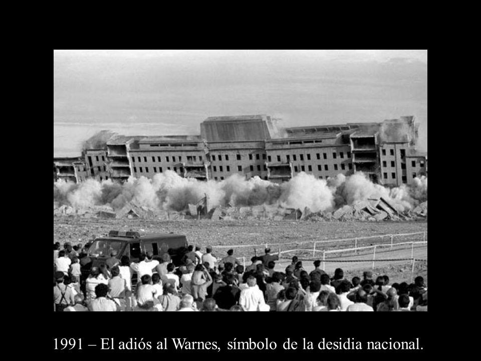 1991 – El adiós al Warnes, símbolo de la desidia nacional.