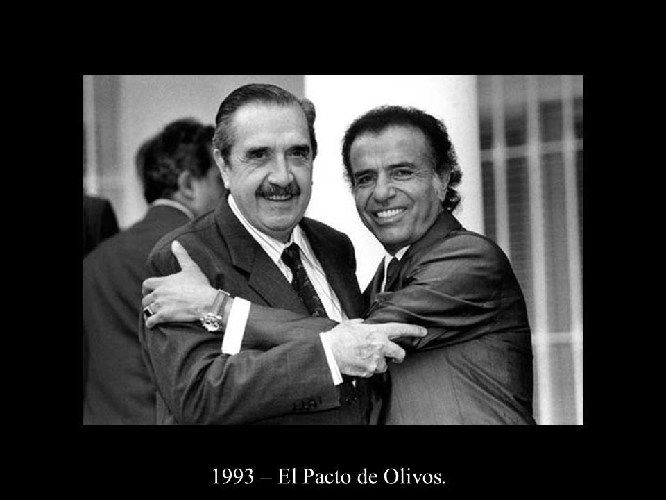 1993 – El Pacto de Olivos.