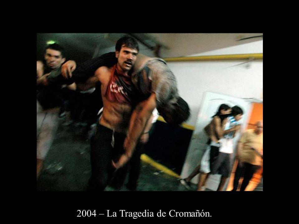 2004 – La Tragedia de Cromañón.