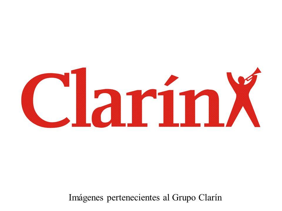 Imágenes pertenecientes al Grupo Clarín