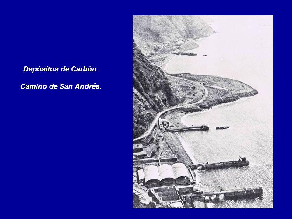 Depósitos de Carbón. Camino de San Andrés.