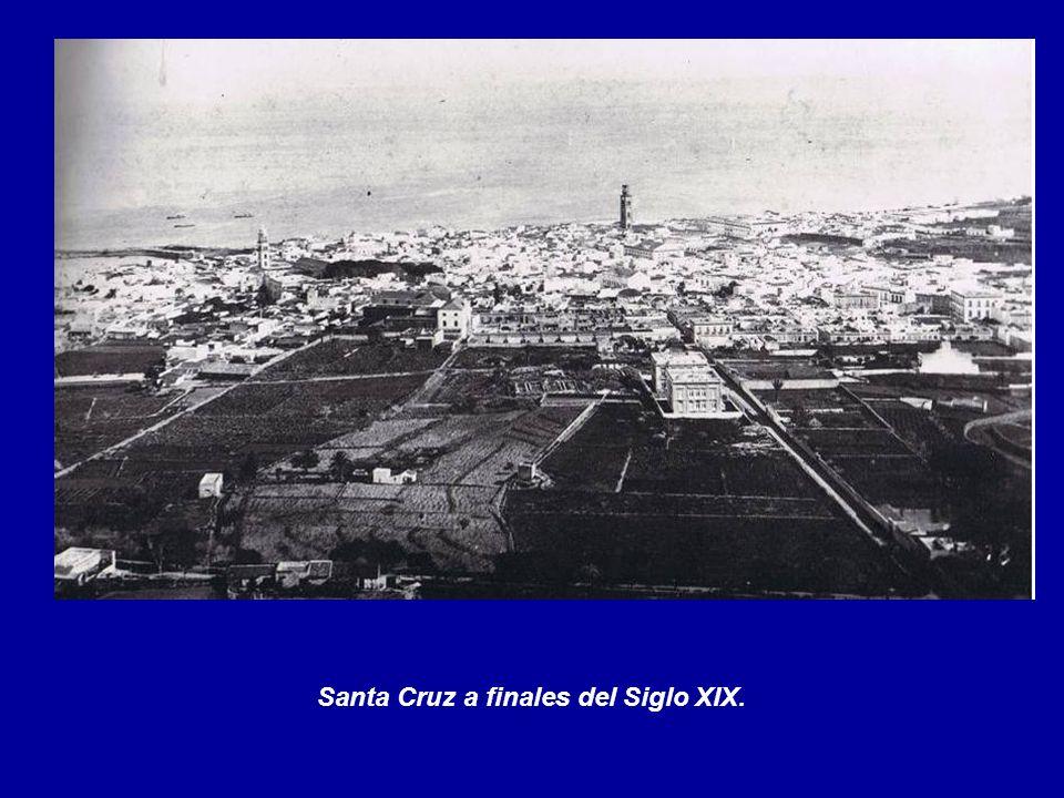 Santa Cruz a finales del Siglo XIX.