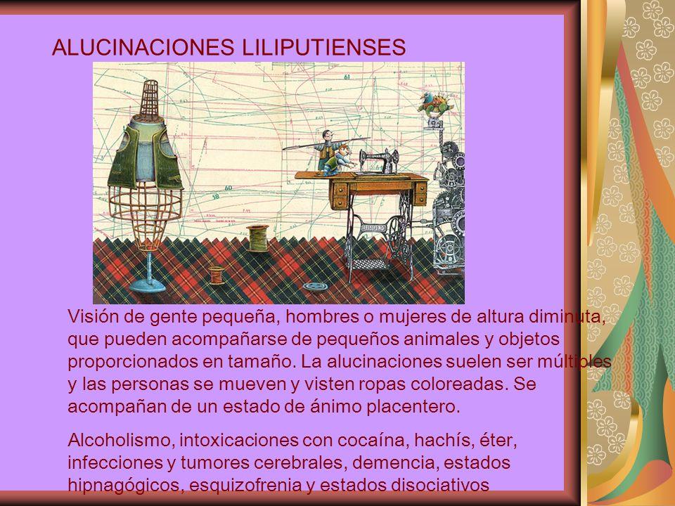ALUCINACIONES LILIPUTIENSES