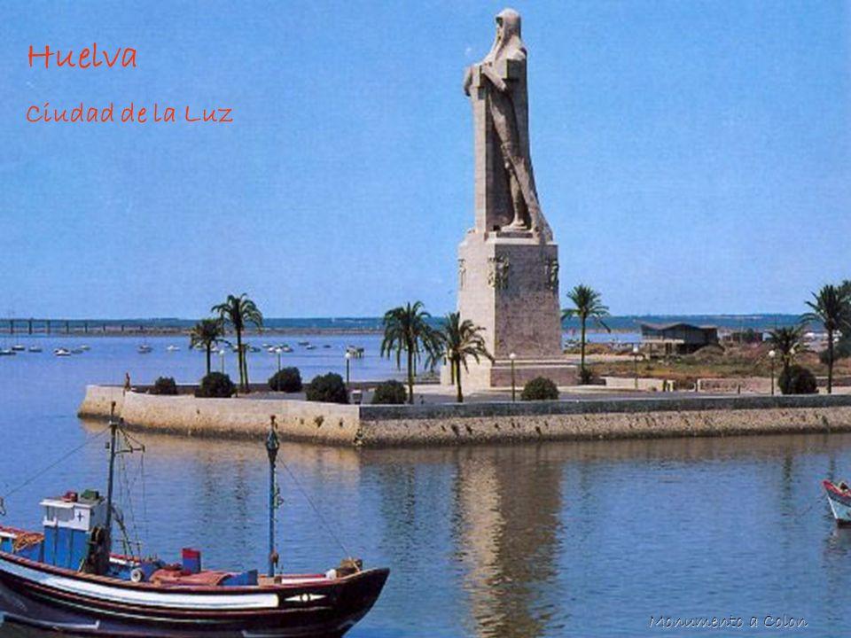 Huelva Huelva Ciudad de la Luz Monumento a Colon