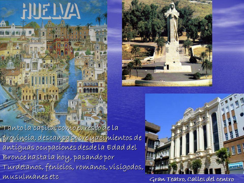 Tanto la capital como el resto de la provincia, descansa sobre yacimientos de antiguas ocupaciones desde la Edad del Bronce hasta la hoy, pasando por Turdetanos, fenicios, romanos, visigodos, musulmanes etc