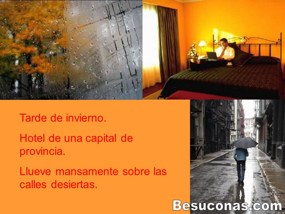 Besuconas.com Tarde de invierno. Hotel de una capital de provincia.