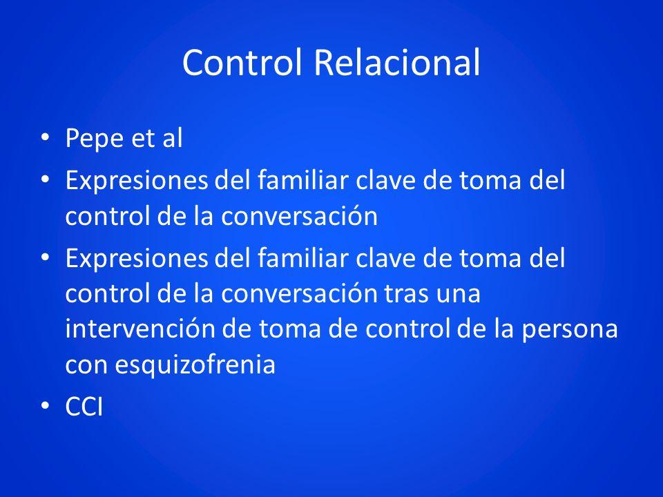 Control Relacional Pepe et al