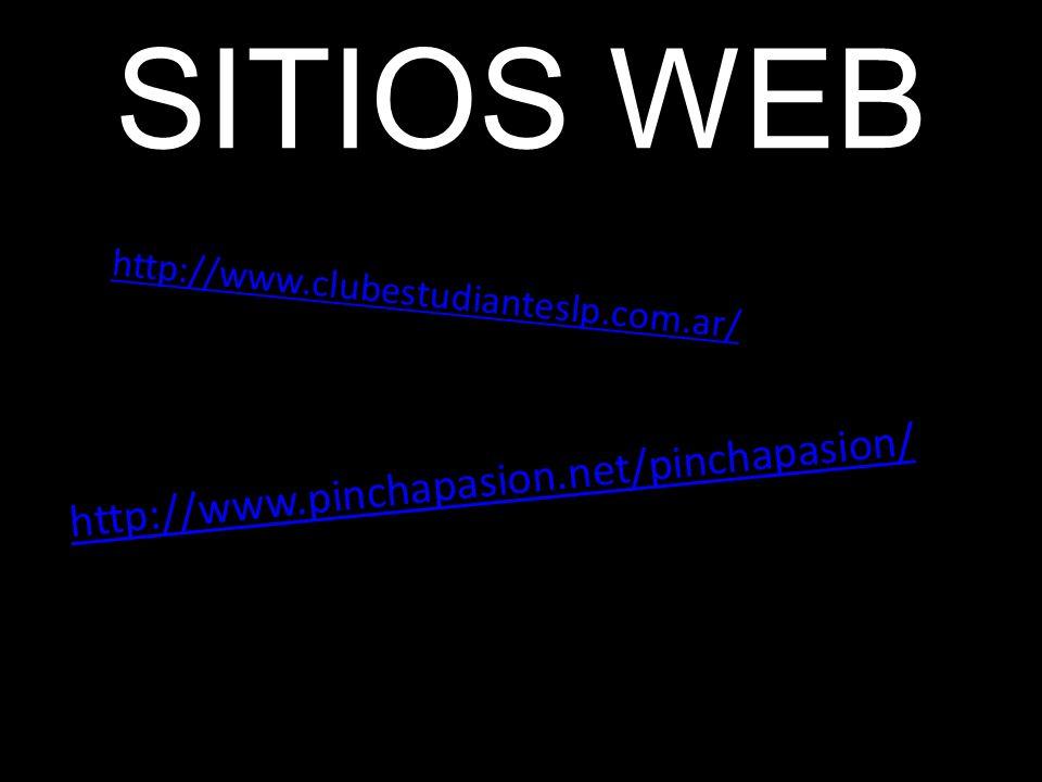 SITIOS WEB http://www.pinchapasion.net/pinchapasion/