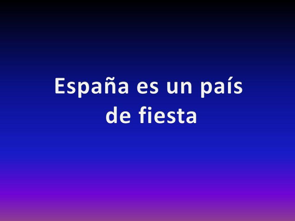 España es un país de fiesta