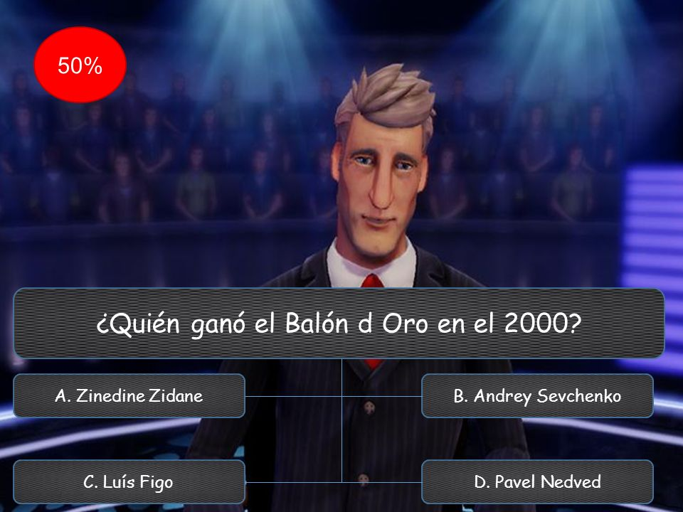 ¿Quién ganó el Balón d Oro en el 2000