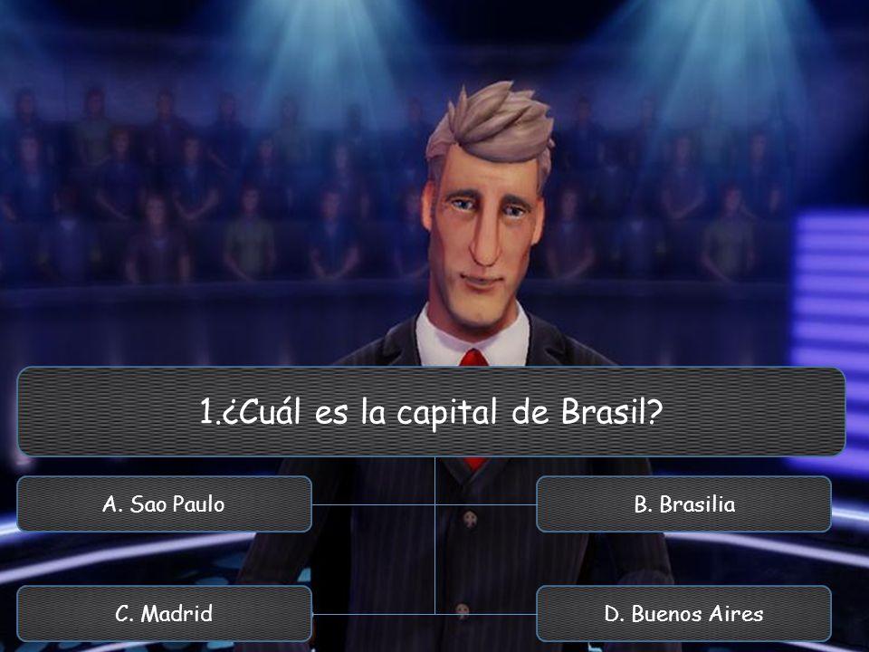1.¿Cuál es la capital de Brasil