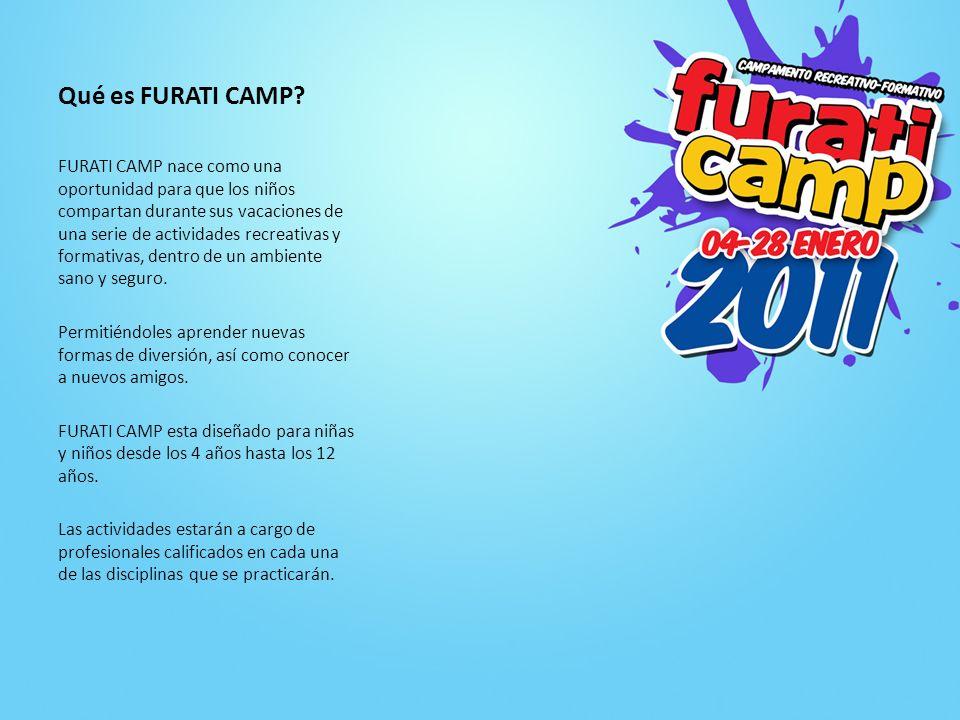 Qué es FURATI CAMP