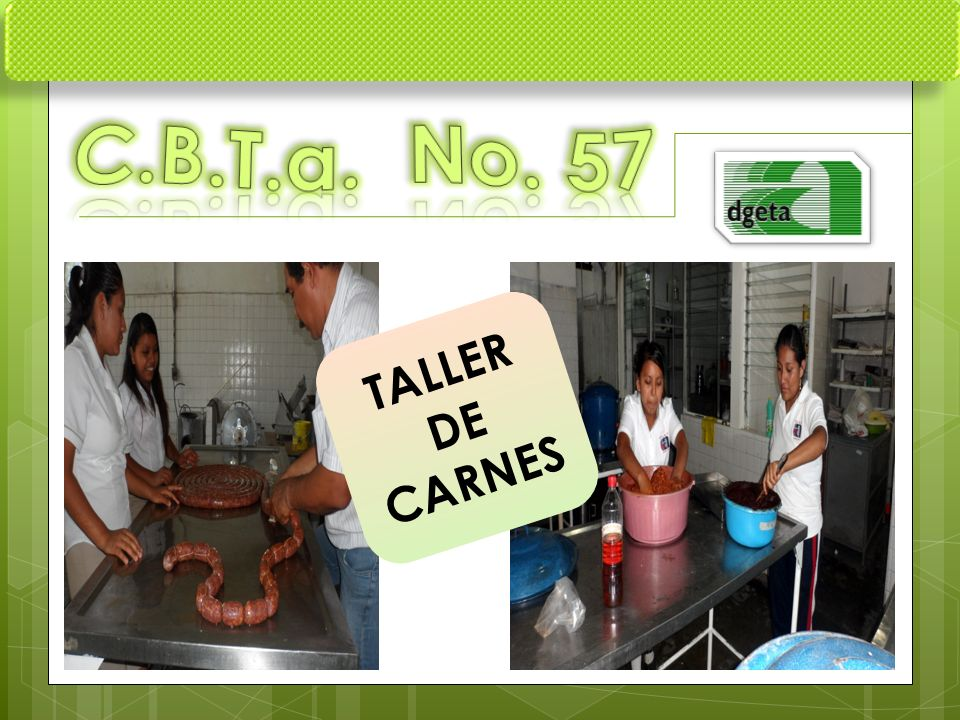 C.B.T.a. No. 57 TALLER DE CARNES