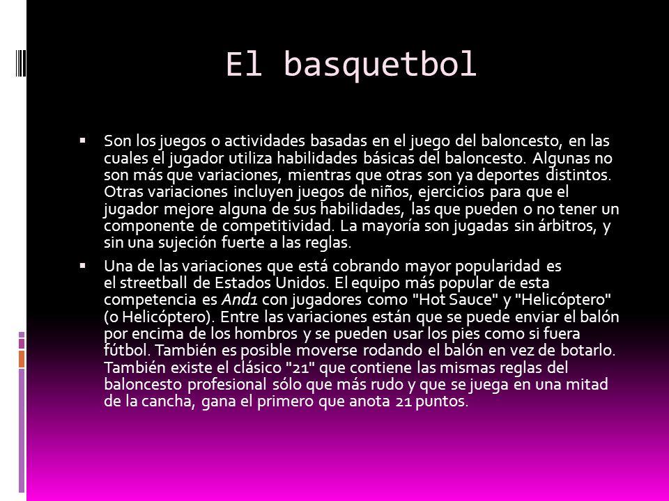El basquetbol