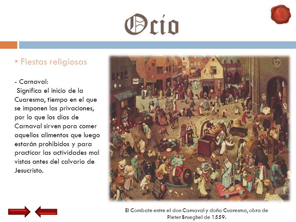 Ocio Fiestas religiosas Carnaval:
