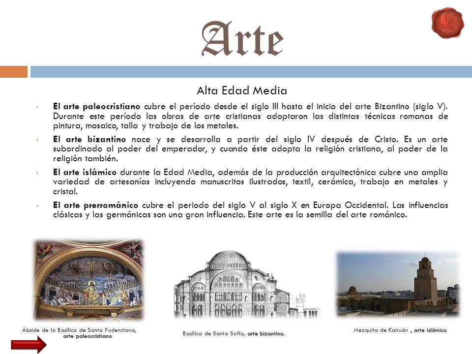 Arte Alta Edad Media.