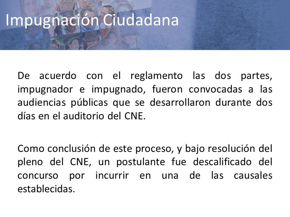 Impugnación Ciudadana