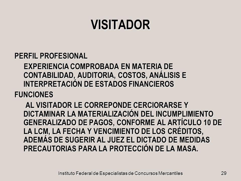 Instituto Federal de Especialistas de Concursos Mercantiles