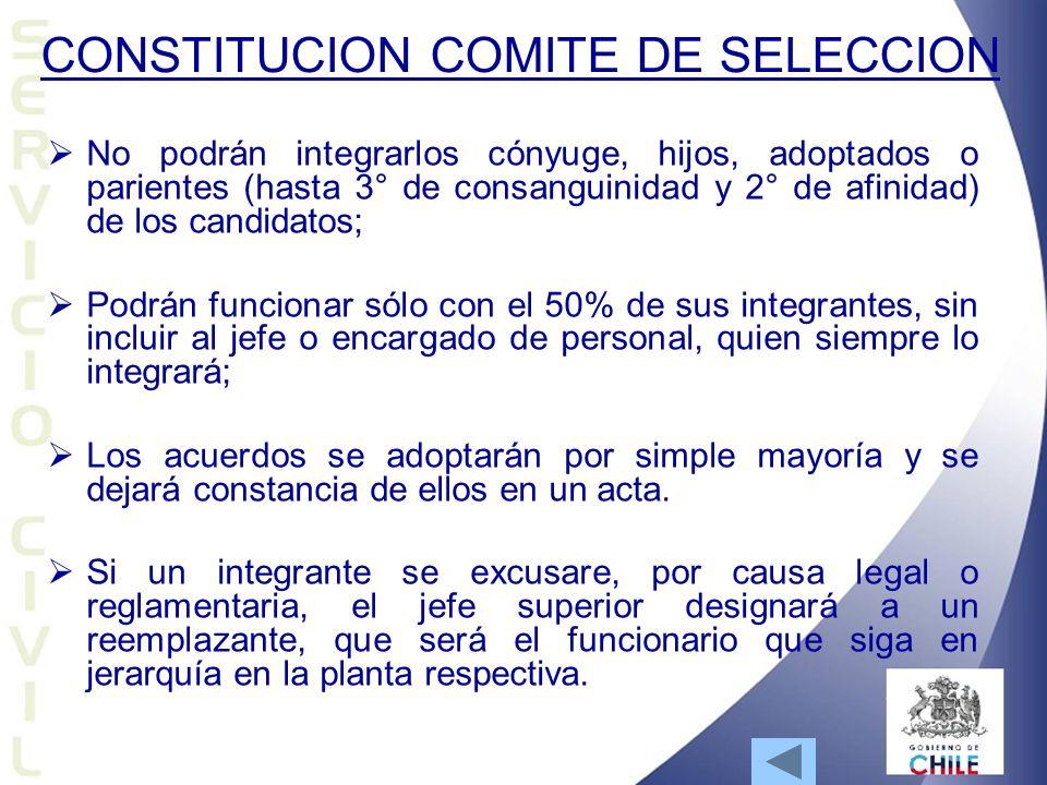 CONSTITUCION COMITE DE SELECCION
