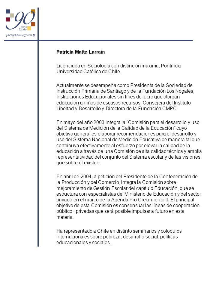 Patricia Matte Larraín