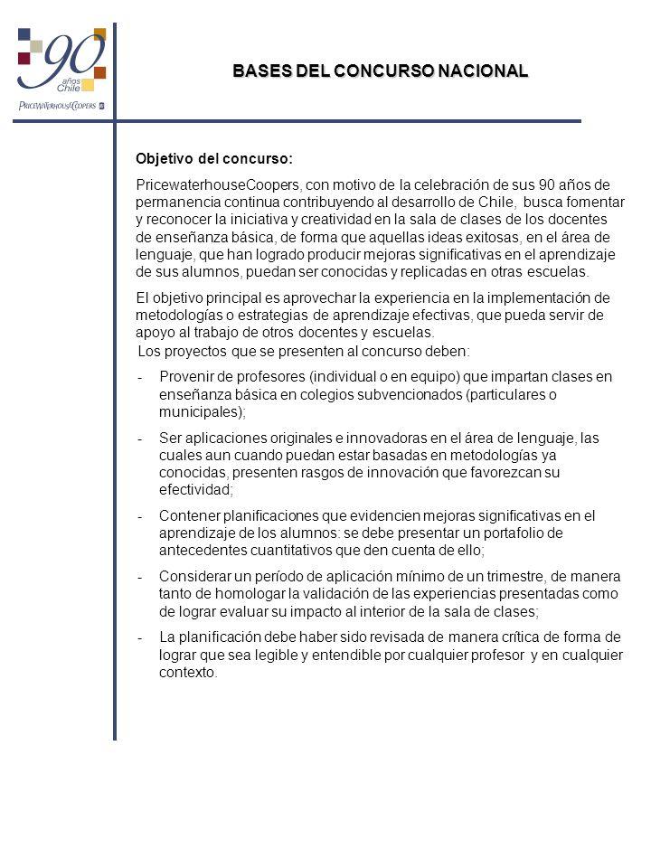 BASES DEL CONCURSO NACIONAL