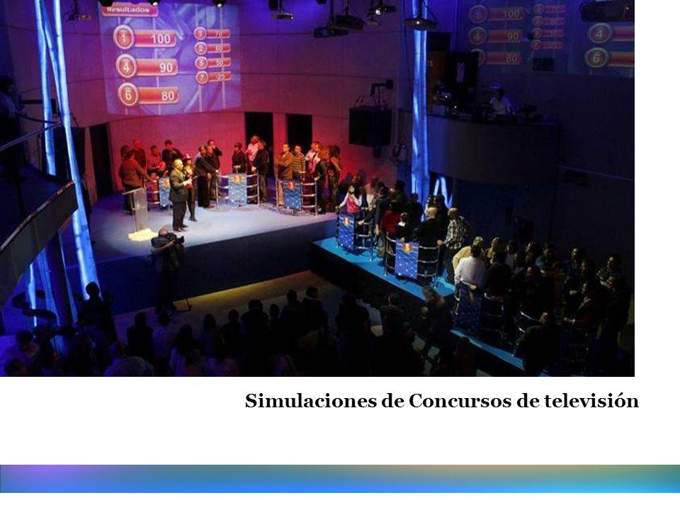 Simulaciones de Concursos de televisión