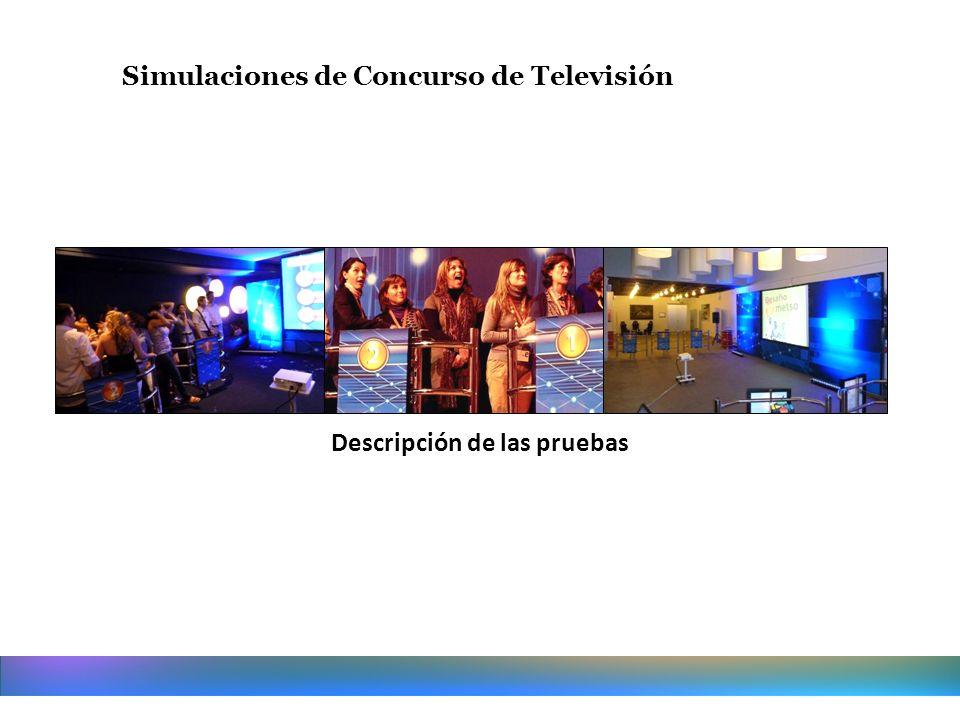 Simulaciones de Concurso de Televisión