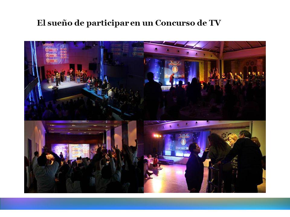 El sueño de participar en un Concurso de TV